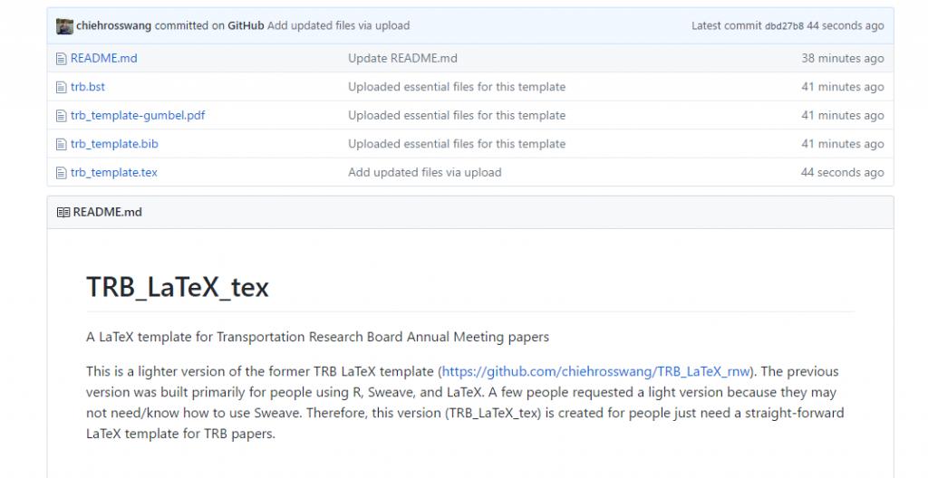 trb latex template