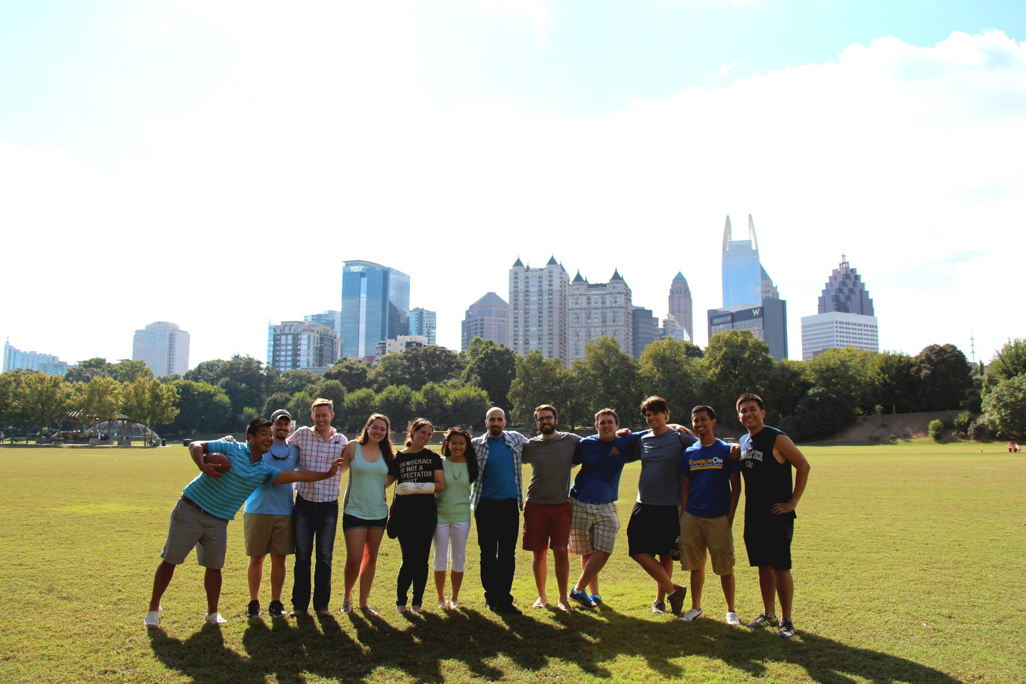 Planned ITE@GT BBQ at Piedmont Park