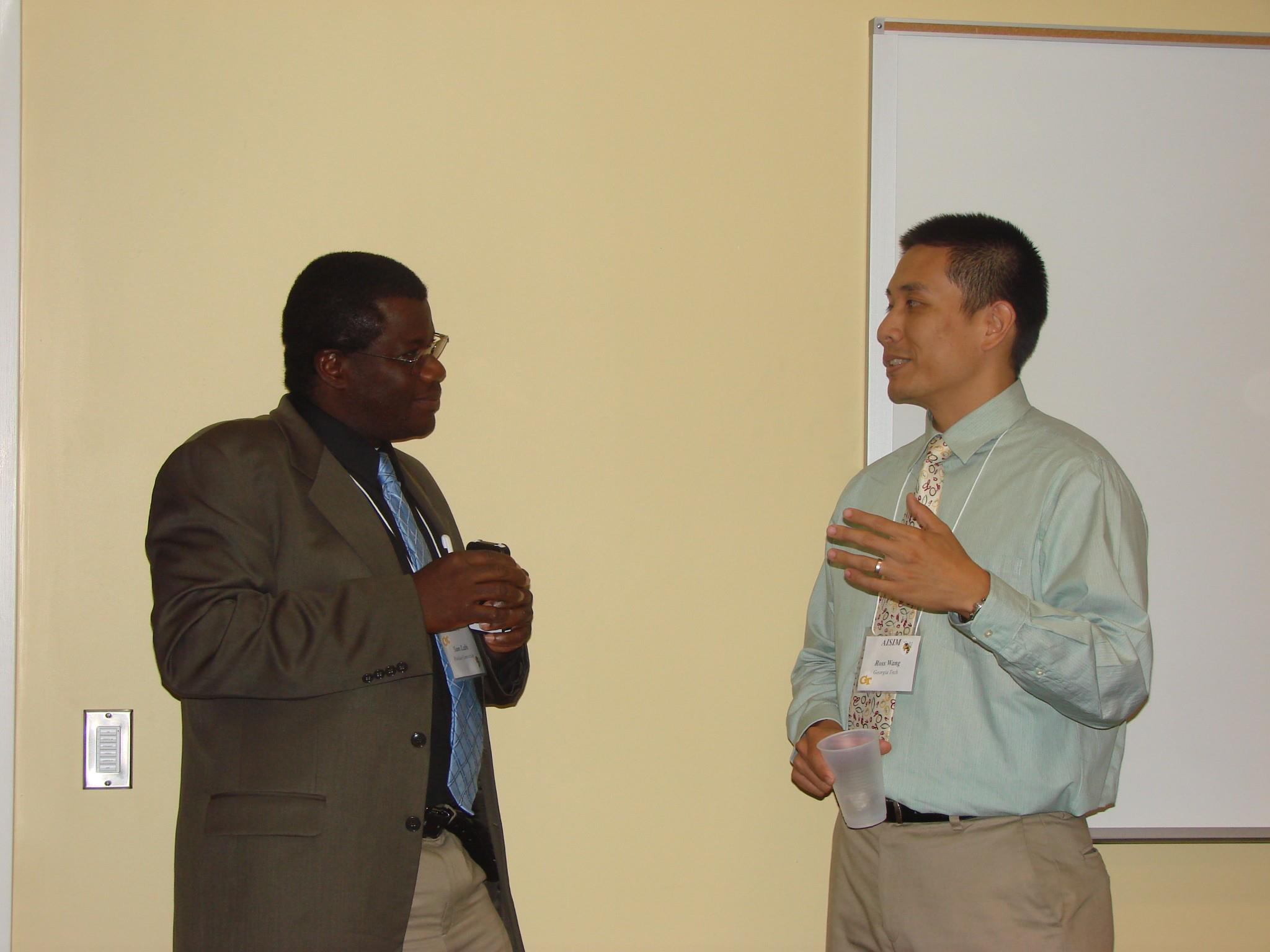 2012 AISIM8 with Dr. Labi